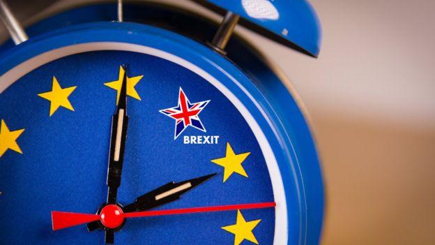 Reloj del Brexit.