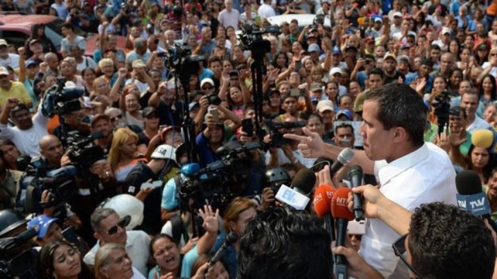 106758850 federicoparra afp - CRISE NA VENEZUELA: os riscos para o Brasil da escalada dos conflitos