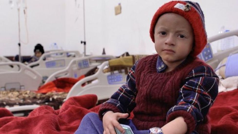 Muthea, six-year-old cancer patient