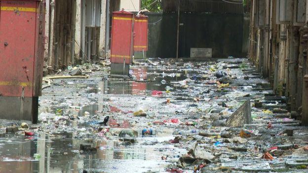 Vivir en medio de la basura