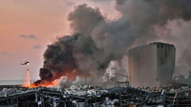 Lübnan patlama