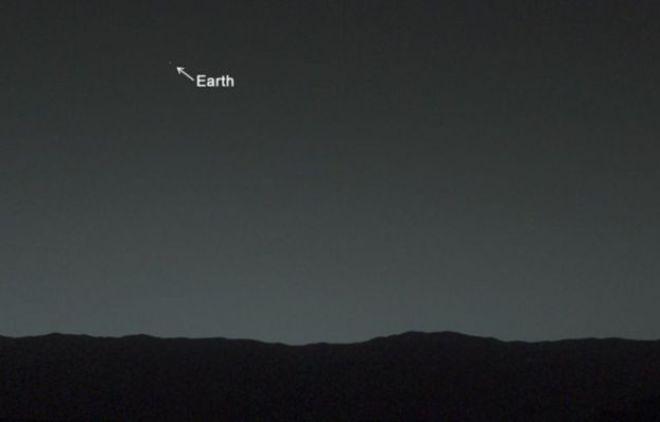 Tierra vista desde Martes