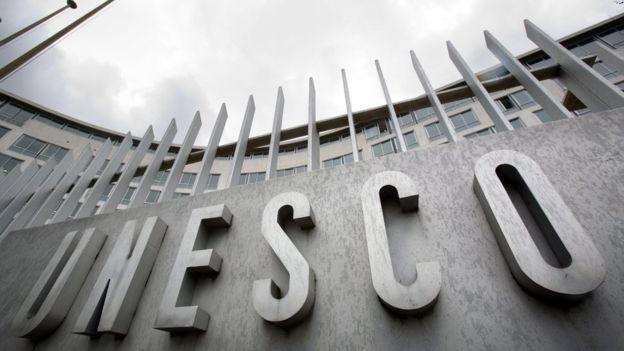 Unesco headquarters, Paris (file photo)