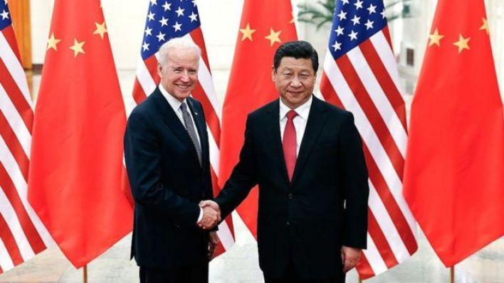 بايدن مع الرئيس الصيني