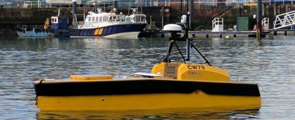 AVS remote controlled boat