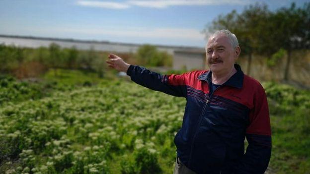 Віталій, житель селища Петровське біля Херсона
