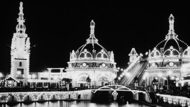 Luna Park, Coney Island, New York, 1890