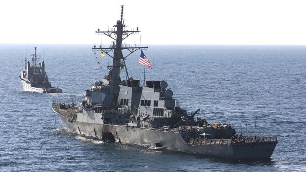 The USS Cole, a Navy destroyer, has reportedly moved closer to Yemen to monitor an Iran-aligned militia