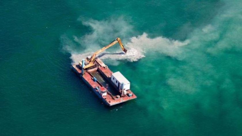 denizde inşaat