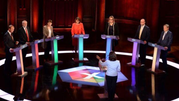 May, kampanya sürecinde Corbyn ve diğer rakipleriyle TV'de karşı karşıya gelmeyi reddetti.