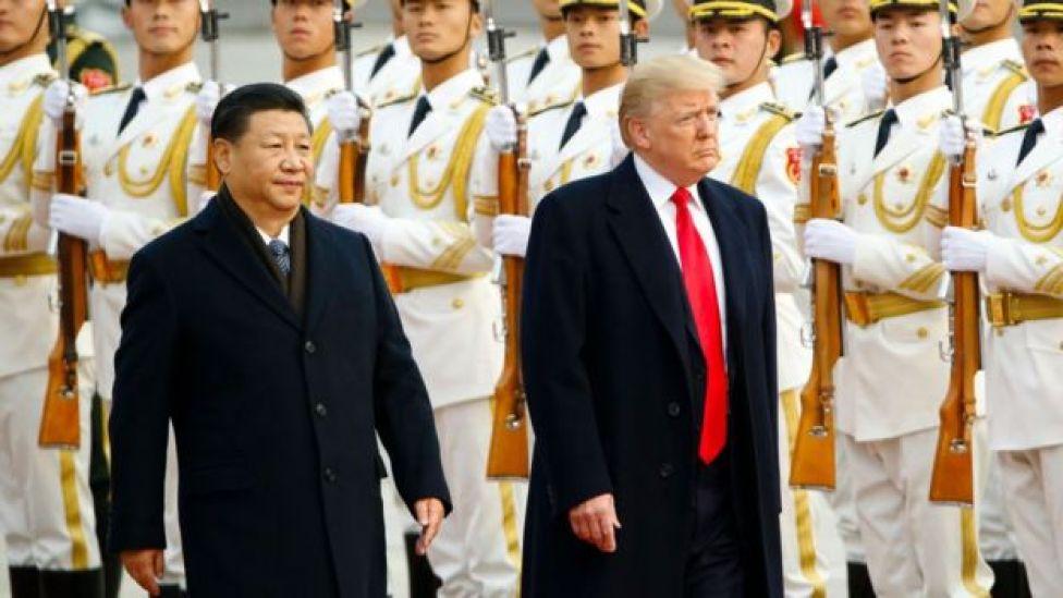 Xi Jinping y Donald Trump.