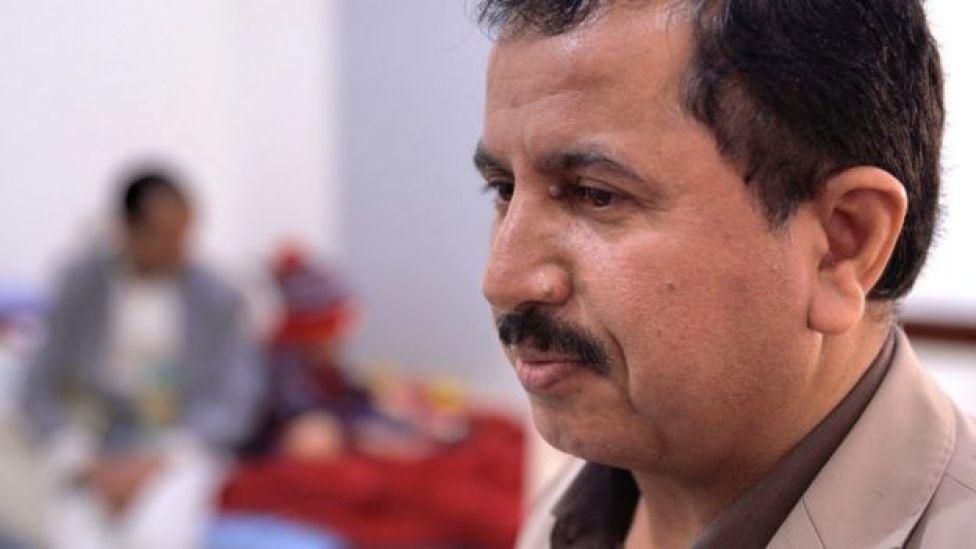Dr Abdullah Thawaba, head of cancer hospital in Sanaa, Yemen