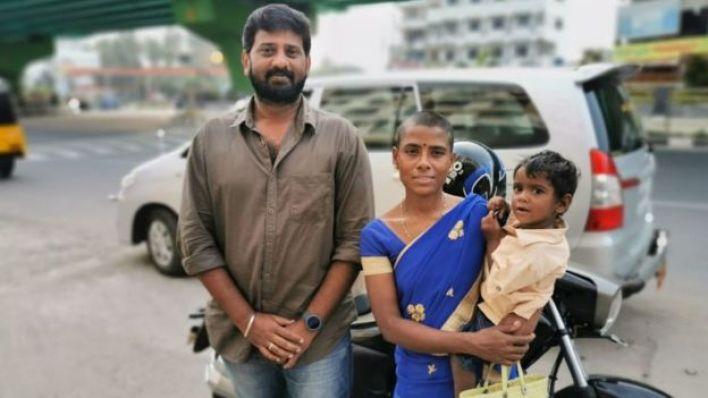 Bala Muruga, Prema Selvam ve çocuğuyla
