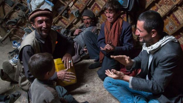 Nómades cantando en Afganistán