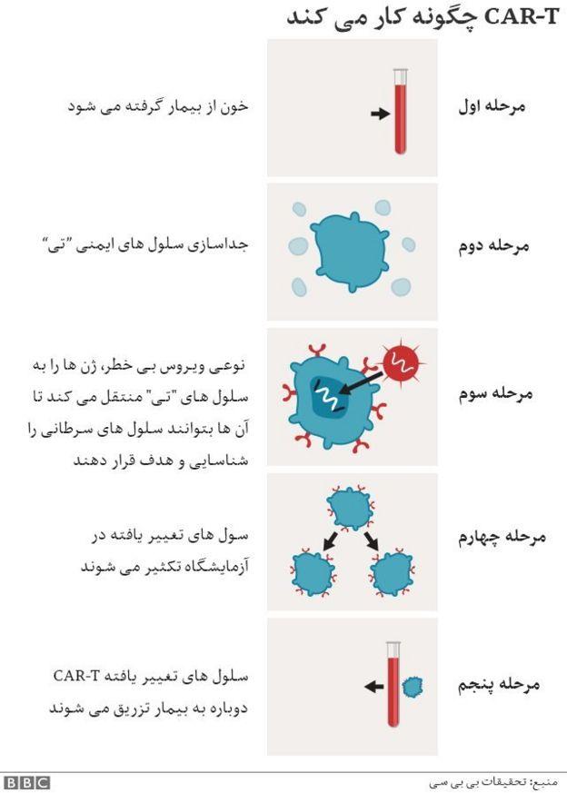 معالجه سرطان با سلول تی