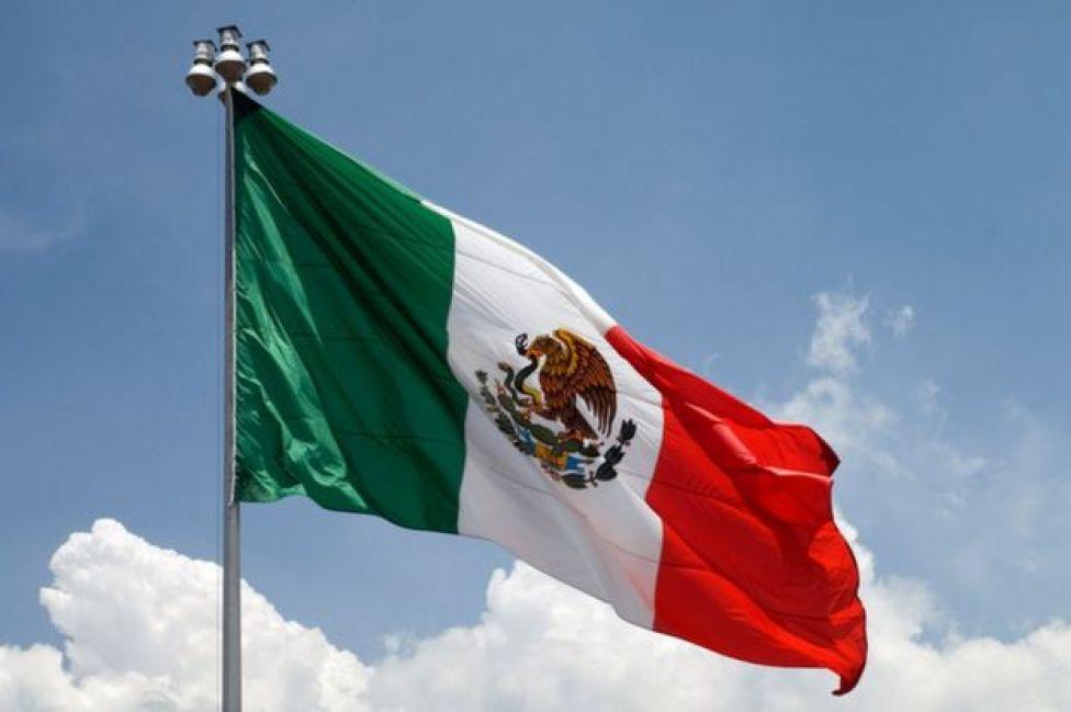 Bandera de México.