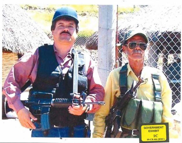 """Foto de """"El Chapo"""" Guzman distribuida por el Departamento de Justicia de Estados Unidos."""