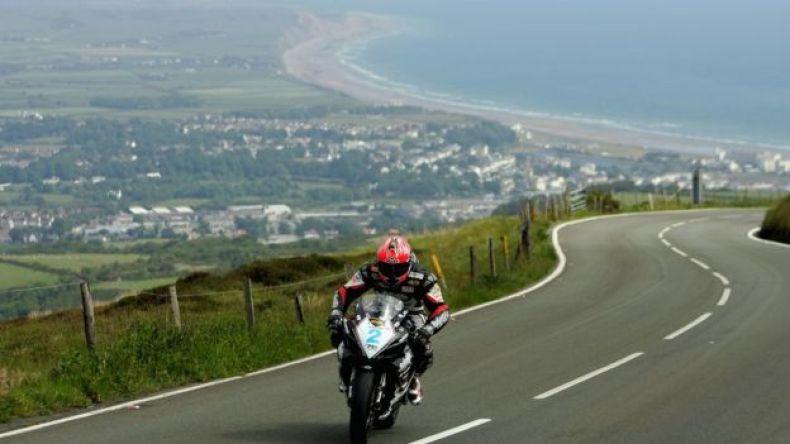 Imagen de la carrera de motociclismo en la Isla de Man. (Foto: Ian Walton)
