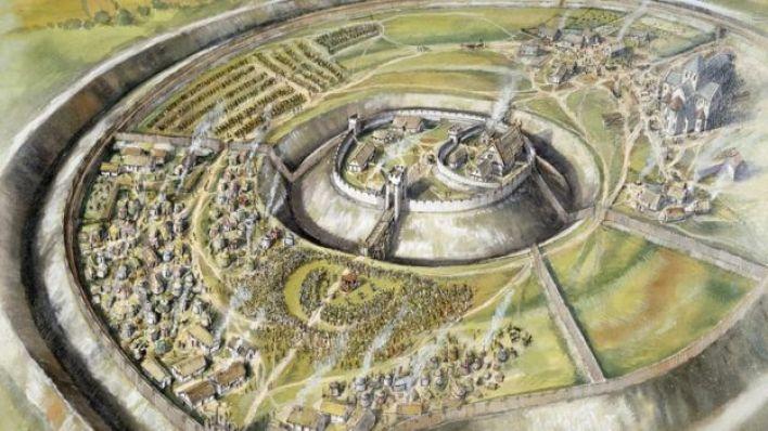 Köy 1030 yılı civarında bugünkünden daha hareketliydi