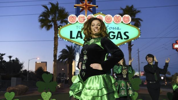 Is it St Patrick's Day in Las Vegas? You bet!