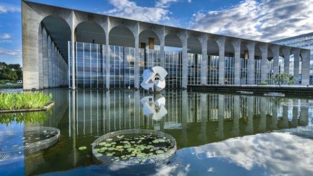Fachada do Palácio do Itamarat