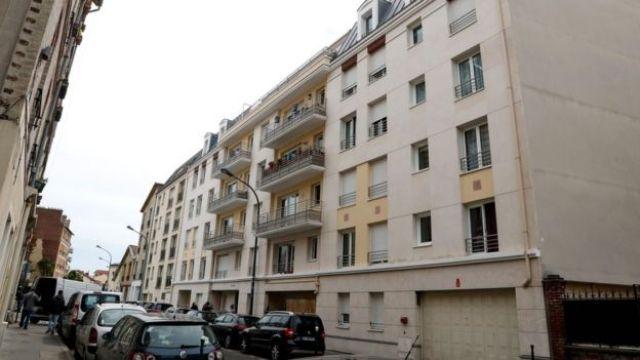 Immeuble d'habitation à Asnières-sur-Seine où Félicien Kabuga a été arrêté par des gendarmes français (16 mai 2020)