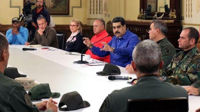 Maduro realizó una alocución a las 9 de la noche, luego de más de 10 horas sin dirigirse directamente a la nación.