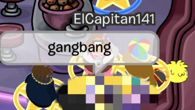 La investigación de BBC destapó que el juego mostraba violaciones simuladas en grupo, como en esta imagen.