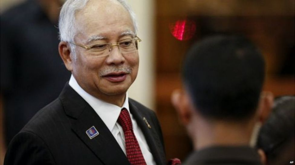 Malaysian Prime Minister Najib Razak during a visit to Putrajaya, Malaysia - 7 August 2015