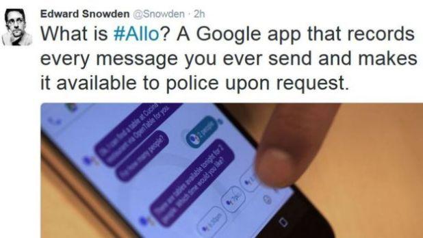 Twitter de Snowden