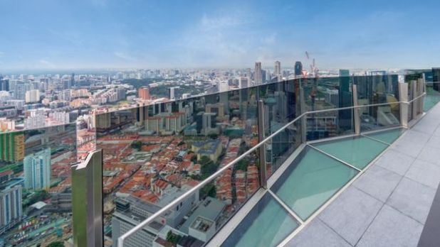 Singapore roof terrace