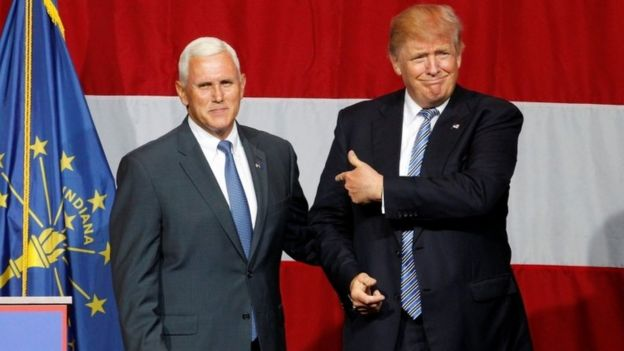 Image result for Will Mike Pence the US vice-president elect visit Ireland