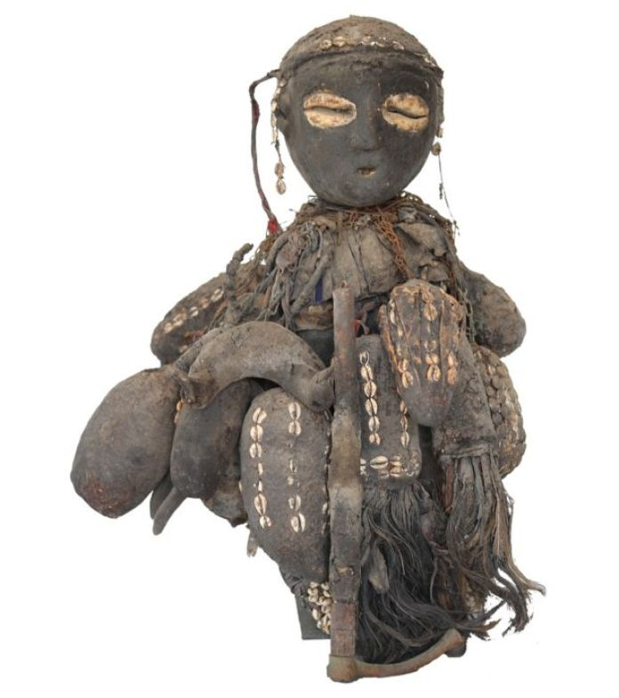 An artwork from the Museum of Black Civilisations