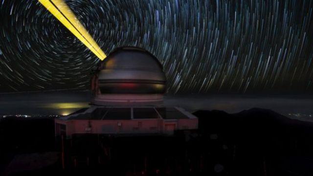 O telescópio Gemini Norte