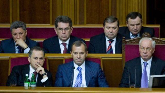 Уряд Азарова зразка початку 2011 року. Ємець у другому ряді ліворуч