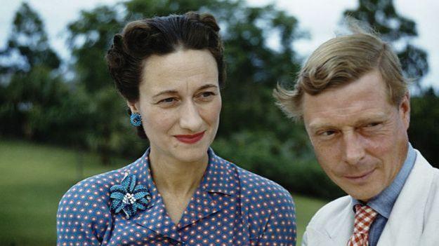 Wallis Simpson y Eduardo VIII