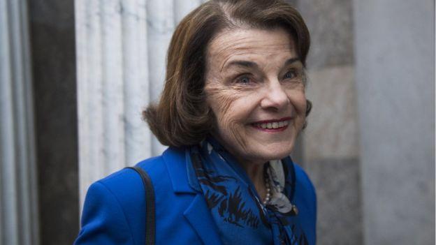 Dianne Feinstein, a Democrat