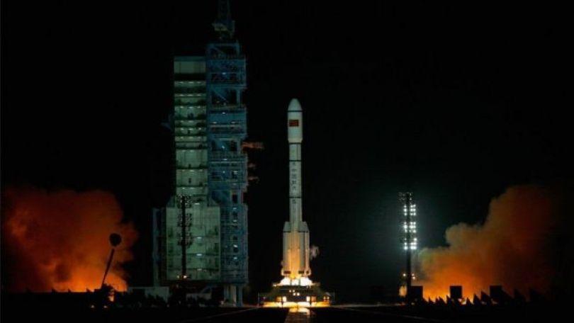 Lançamento da Tiagong-1 em 2011