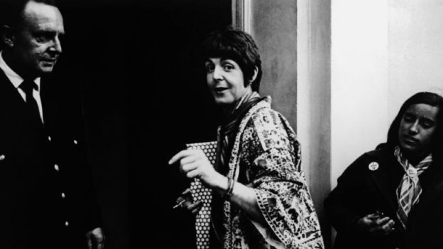Paul McCartney at Abbey Road