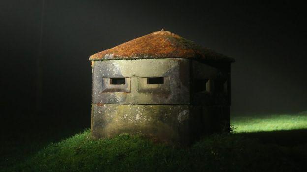 Ancien bunker allemand Est près de Suhl, 17 octobre 14