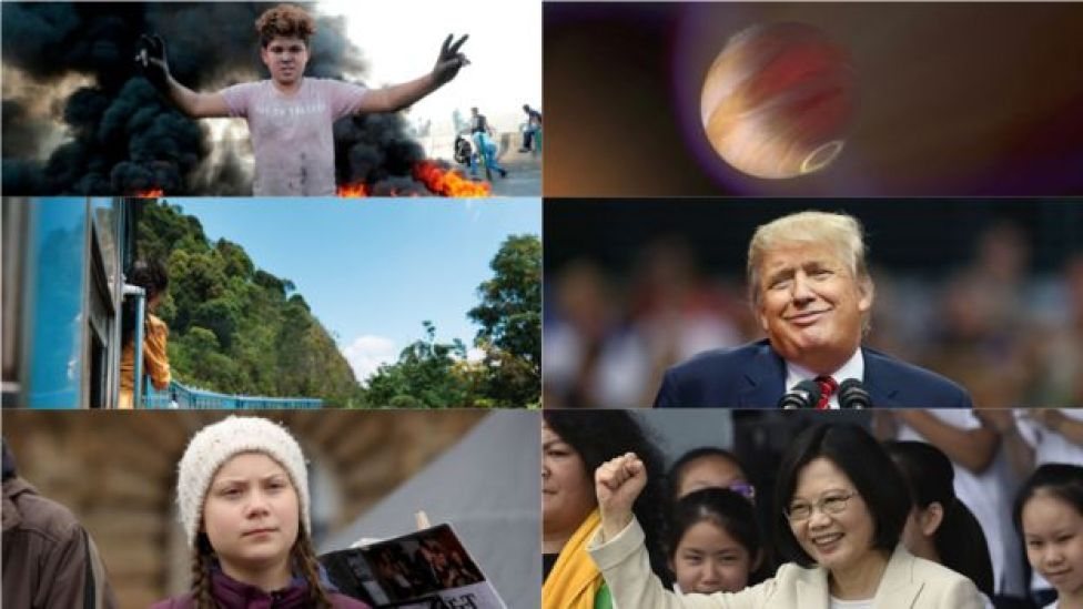 Collage of 2020-related pictures