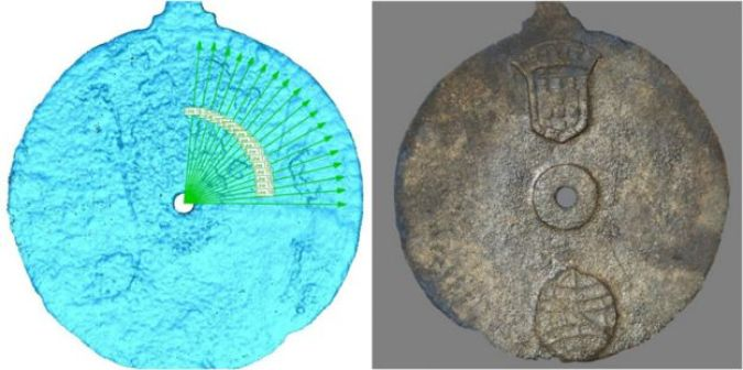 Astrolabe laser scan