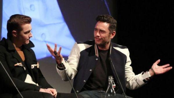 جيمس فرانكو يتحدث في إحدى الفعاليات حول فيلمه الأخير