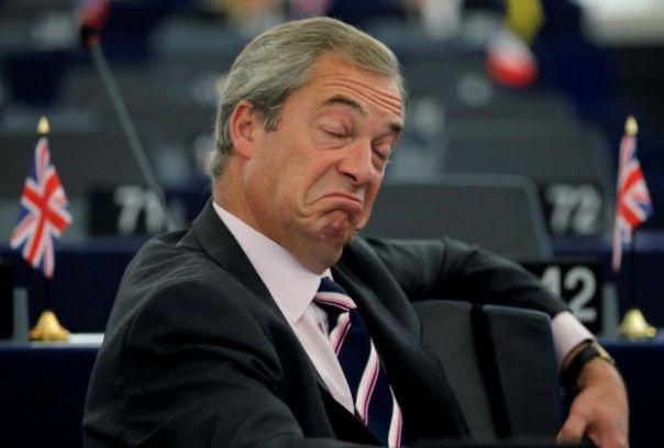 El líder del Partido de la Independencia de Reino Unido (UKIP), Nigel Farage.