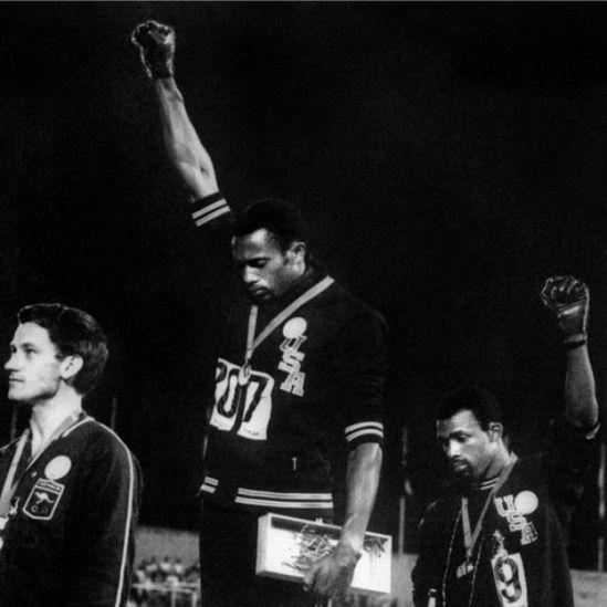 Protesta del Black Power en México 68.