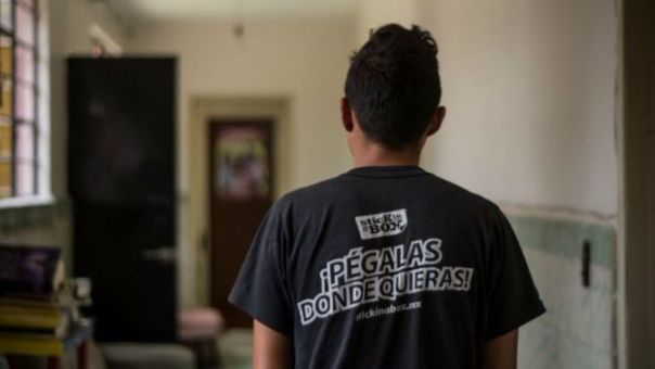 Williams, adolescente de Honduras refugiado en México