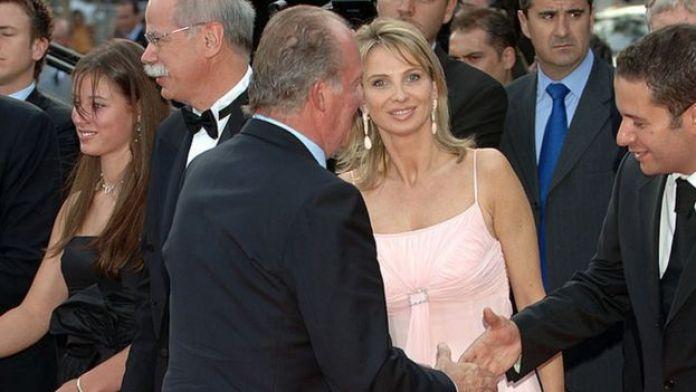 King Juan Carlos and Corinna zu Sayn-Wittgenstein in 2006