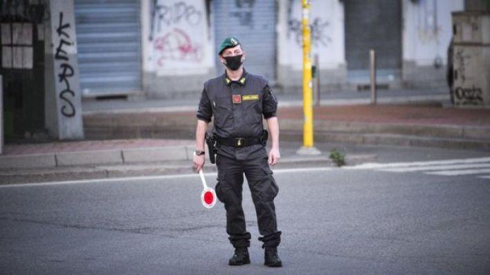 رجل شرطة في إيطاليا