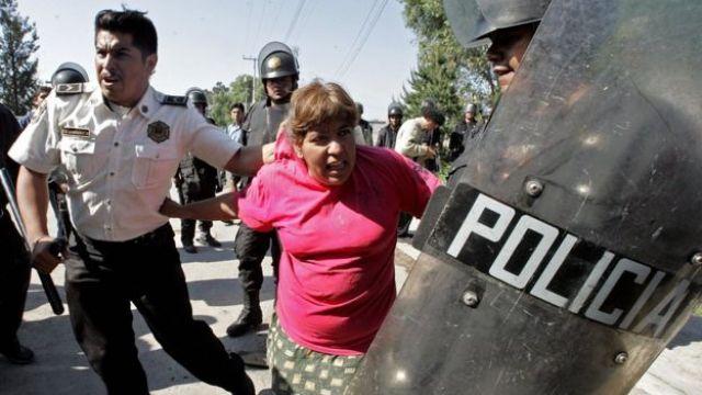 Protesta en México
