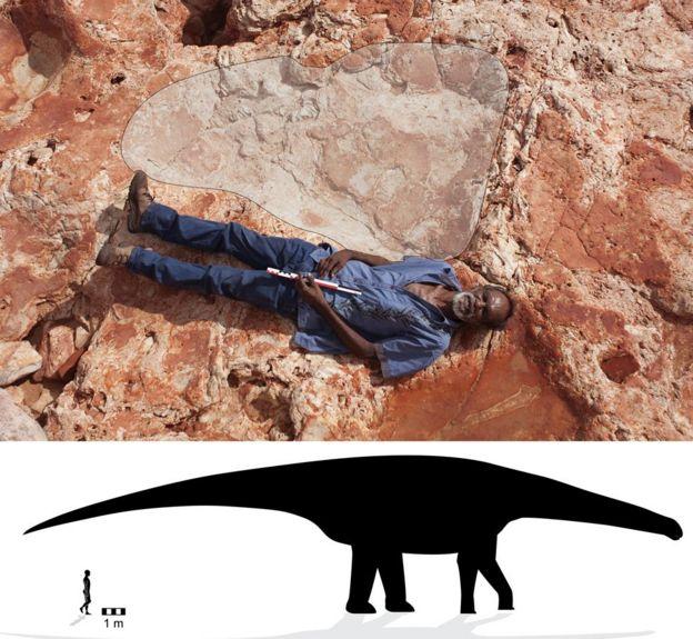 Huellas de dinosaurio en Australia